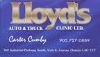 Lloyds Auto and Truck Clinic Ltd.