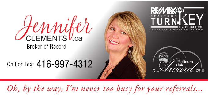 Jennifer Clements, Broker of Record of Re/Max Realtron TurnKey Realty, Brokerage