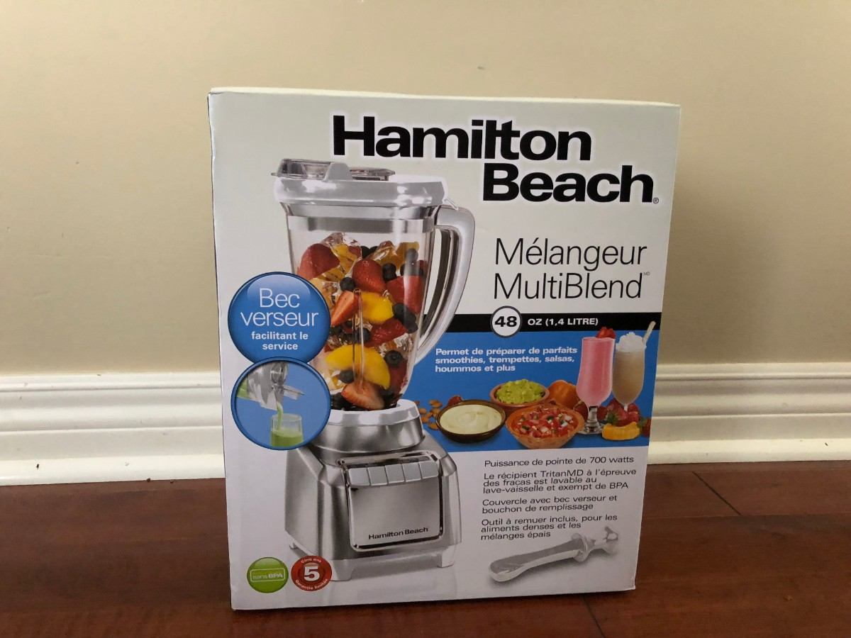 Hamilton Beach - MultiBlend Blender