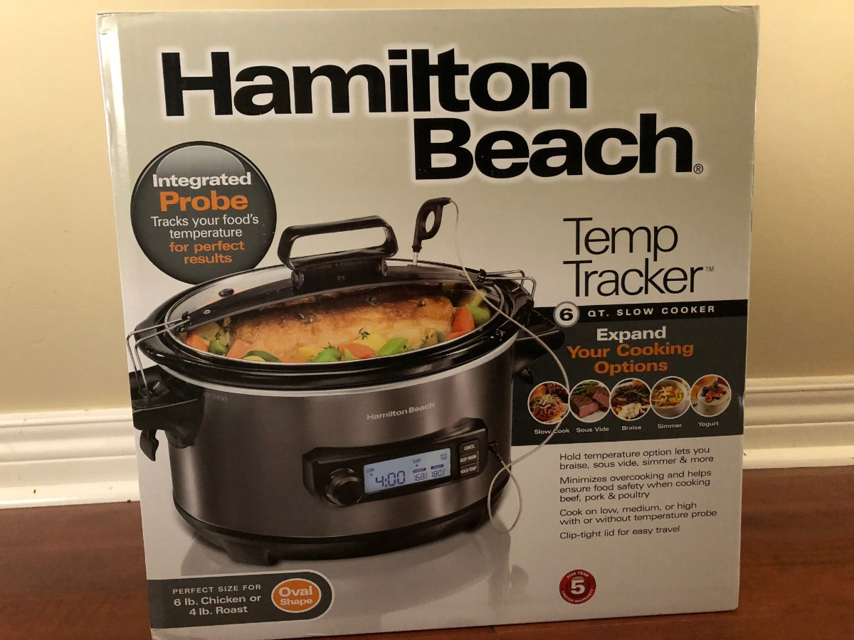 Hamilton Beach - Temp Tracker - Slow cooker